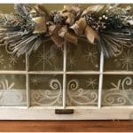 Vintage Holiday Window Class