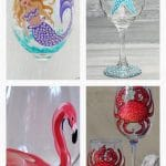 Wine Glass Painting at the Lazy Pirate