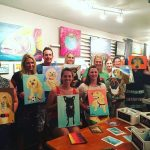 Paint Your Pet, Private Event for Einsteins Canine College